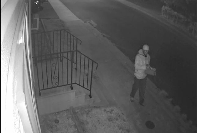 suspect in vehicle theft from NE 5th St
